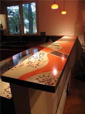concrete countertops nh ma maine kitchen contractor