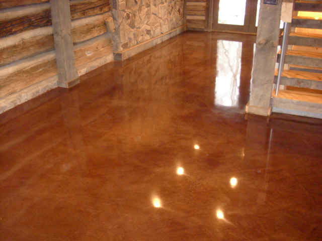 Concrete Stain NH MA ME | Acid Paint | Contractor
