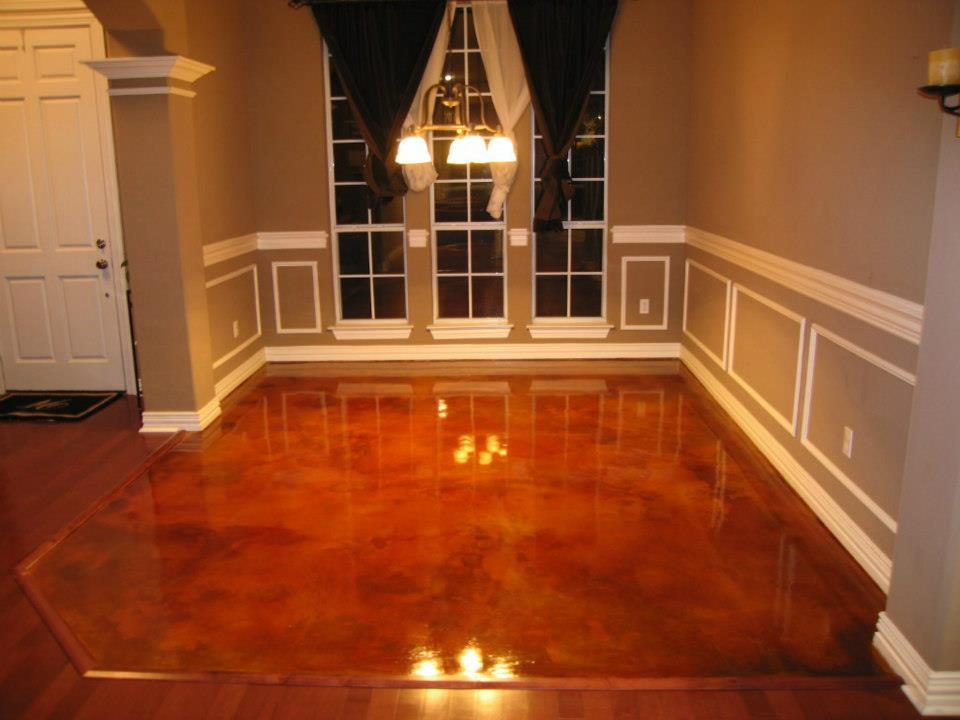 Epoxy flooring kitchen nh ma me restaurant contractor for Concrete floors in homes