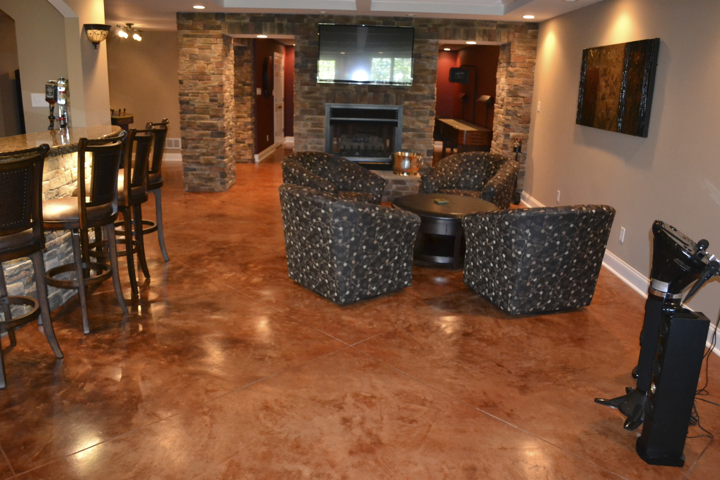 Uneven Kitchen Floor Kitchen Flooring Nh Ma Me Epoxy Vinyl Tile Contractor
