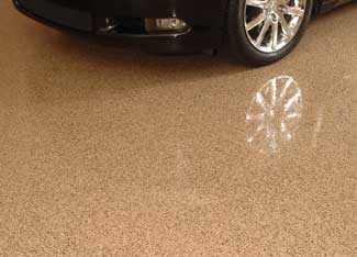 Garage floor paint nh ma me concrete coating contractor for How do you clean a garage floor